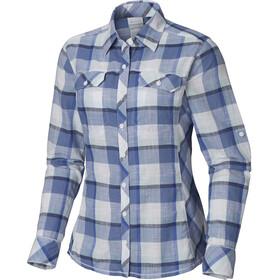 Columbia Camp Henry - Camiseta de manga larga Mujer - azul/blanco